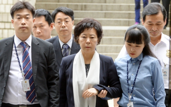 Lotte founder's daughter Shin Young-ja indicted