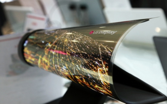 LG Display bets big on OLED to take on Samsung