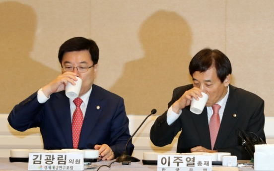 Fiscal policy key to aid growth: BOK Gov.