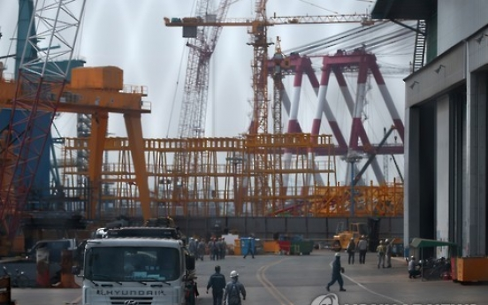 Hyundai Heavy records 'surprise' profit, rivals likely to see losses