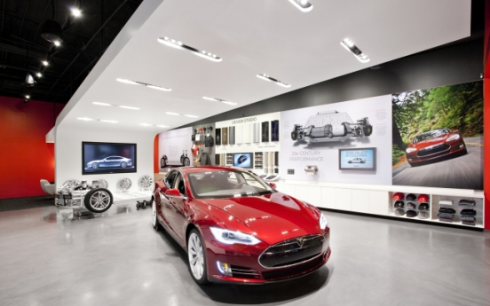 Shinsegae waiting for Tesla Motors' go-ahead