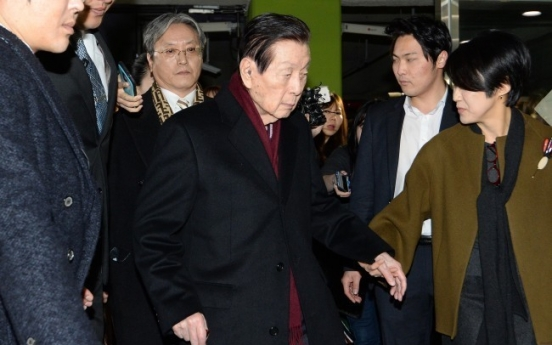 [LOTTE PROBE] Lotte founder detected evading W600b taxes