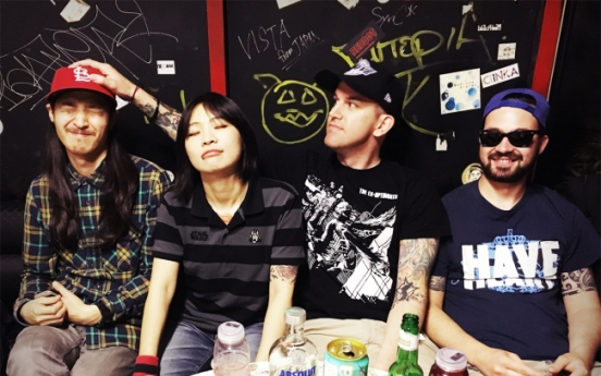 Punk stalwarts return from U.S. tour with new record