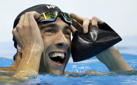 Phelps signs off with 23rd gold medal