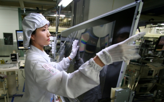 Samsung loses share in large-size display market in 1H