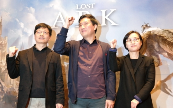 """South Korea's fourth-richest man unveils new game, """"Lost Ark"""""""