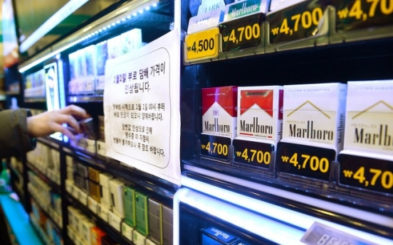 S. Koreans' tobacco and alcohol spending rise in Q2
