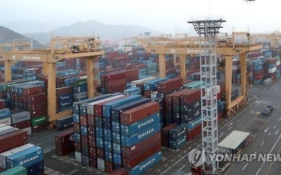 Index shows Korea's exports slowing