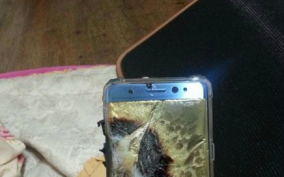Samsung Galaxy Note 7 explodes while charging, woman claims