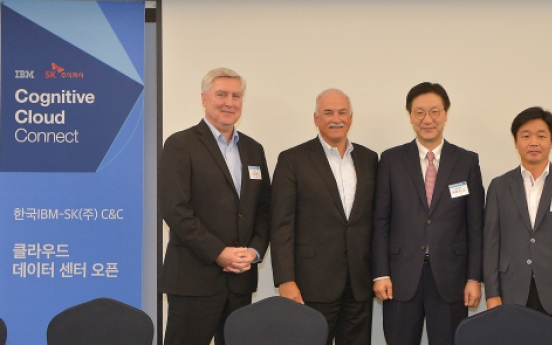 SK Holdings C&C, IBM join forces for cloud services