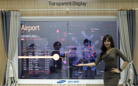 Samsung Display stops producing transparent OLED