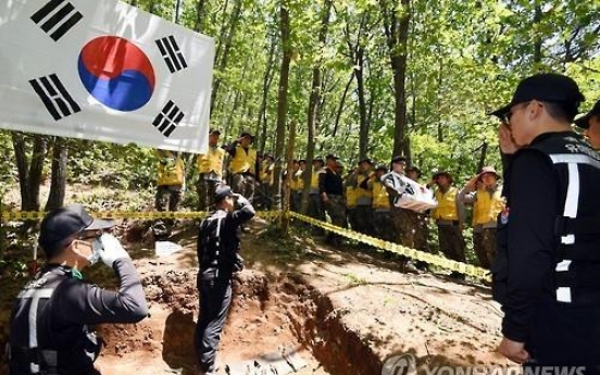 Korea excavates remains of 320 Korean War dead in H1