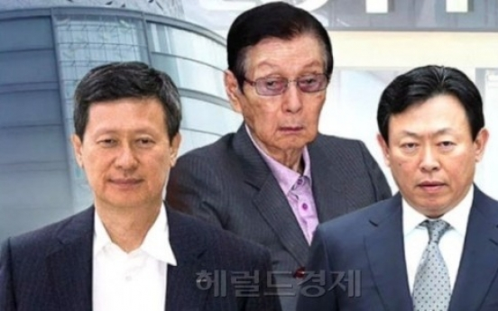 [LOTTE CRISIS] 5 members of Lotte founding family may face indictment