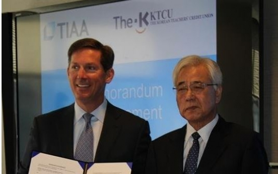 KTCU, TIAA to form real estate JV