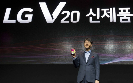 LG mobile chief shrugs off impact of Samsung Galaxy Note 7 recall