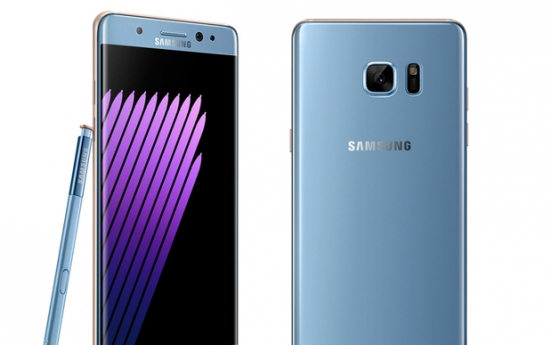 Korea not to ban use of Galaxy Note 7 smartphones on planes
