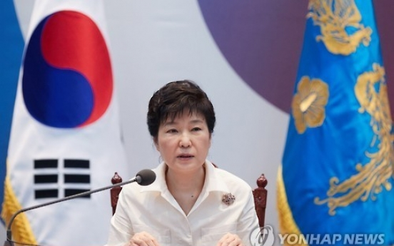 Park says N. Korean leader uncontrollable, calls for stronger U.S. extended deterrence