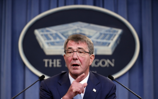 Carter calls for ramping up pressure on N. Korea