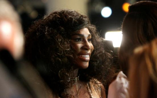Serena Williams pens female-power poem for fashion show