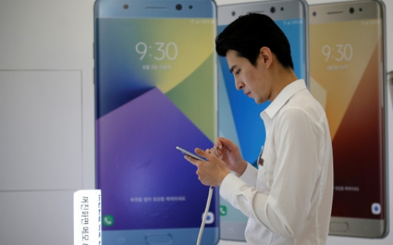 Korea allows in-flight use of refurbished Samsung Galaxy Note 7