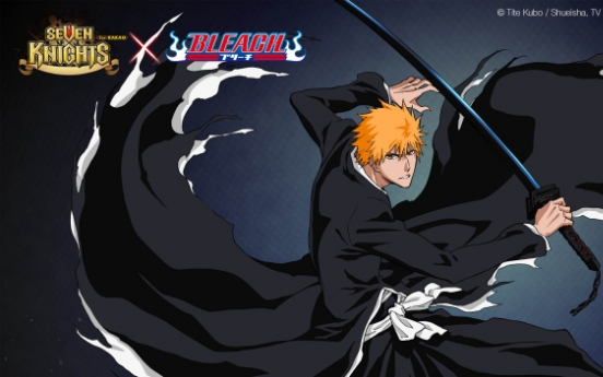Netmarble to collaborate with Japanese cartoon 'BLEACH' for mobile game