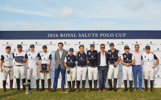 Jeju plays host to Royal Salute Polo Cup