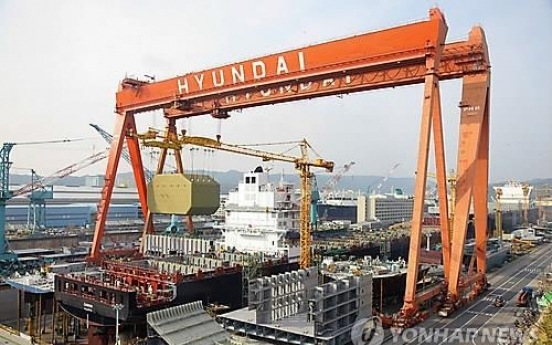 HHI delivers improved LNG vessel to Norwegian company