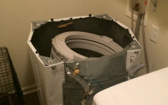 Samsung plagued by explosion-prone washers