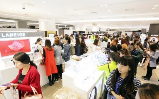 Sales at department stores up 10% on Korea Sales Festa