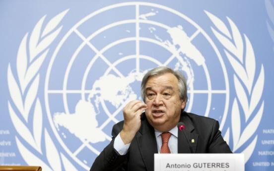 Ex-Portuguese PM Guterres chosen to succeed Ban Ki-moon as UN chief