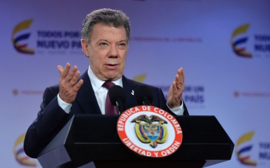 [Newsmaker] Colombia's Santos wins Nobel Peace Prize