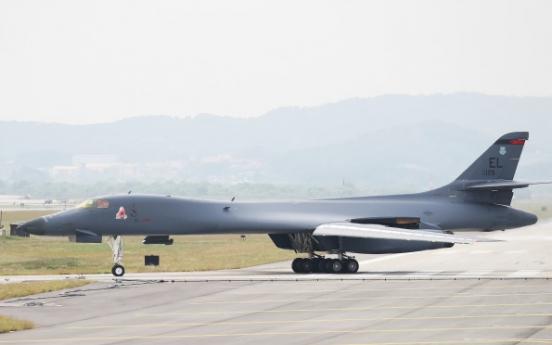N. Korea claims US strategic bomber B-1B flew near Korean Peninsula