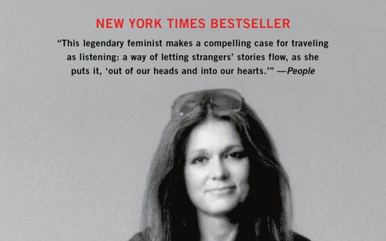 Feminist icon Gloria Steinem talks about life on the road