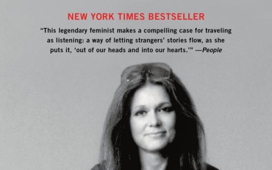 Feminist icon Gloria Steinem talks about life on the road