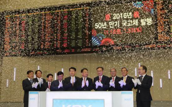 [Photo News] Sale of longest dated treasury