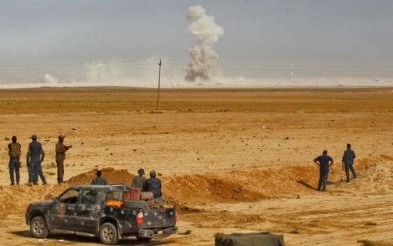 Inside Mosul, tense wait under the clouds of war