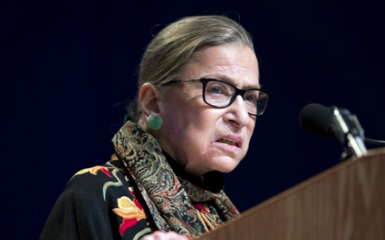 83-year-old US Supreme Court judge Ginsburg is pop culture icon