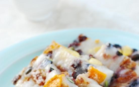 Yeongyang chaltteok (Healthy sweet rice cake)