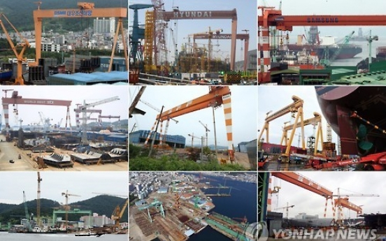 Shipbuilding, shipping restructuring to cost W31tr: IMF