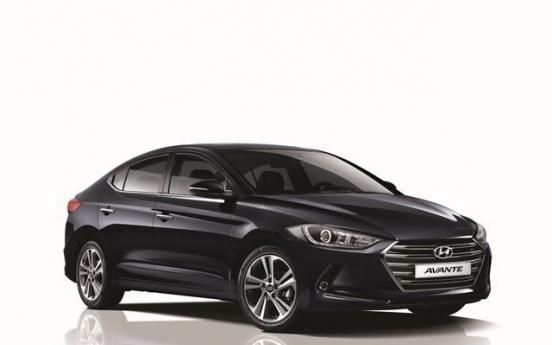 Hyundai Avante ranks No. 4 globally in 2015