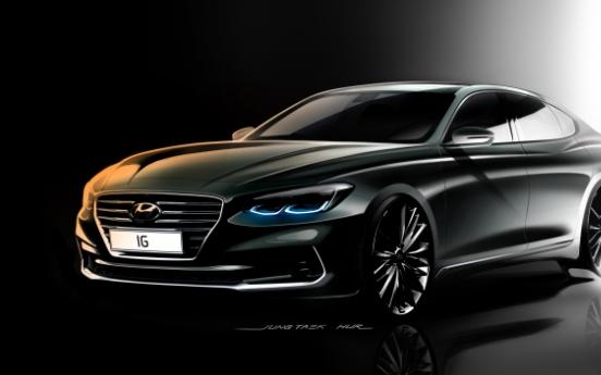 Hyundai Motor unveils new, sleek Grandeur