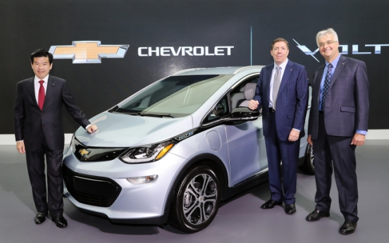 Chevy Bolt EV to debut in Korea next year