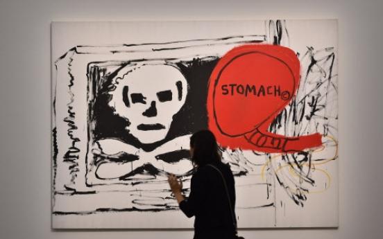 Art star Basquiat showcased in Italy retrospective