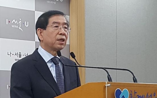 Seoul mayor, Ahn declare all-out war on Park