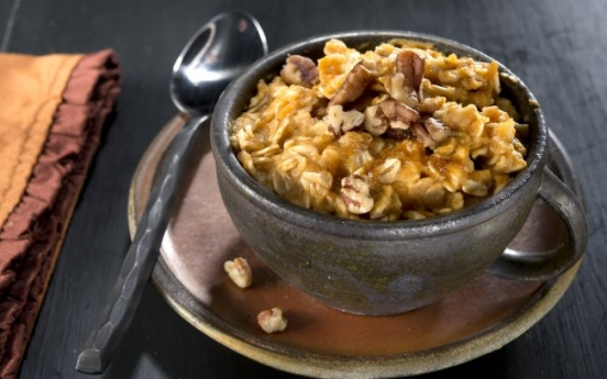 Porridge with a dash of pumpkin spice can be just right for breakfast