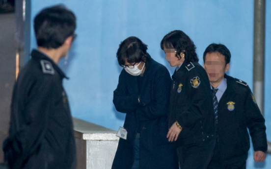 Arrest warrant issued for Choi