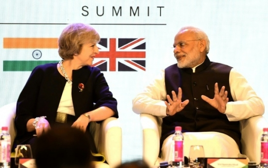 May lays groundwork for post-Brexit India trade deal