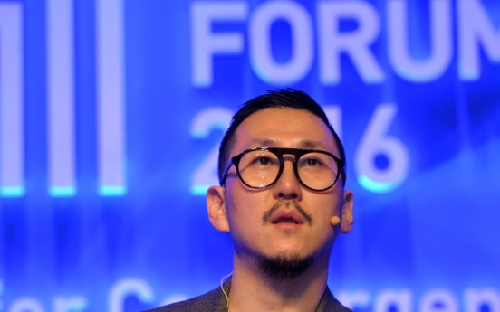 [Herald Design Forum 2016] Fashion designer Choi Eu-don embraces both art and business