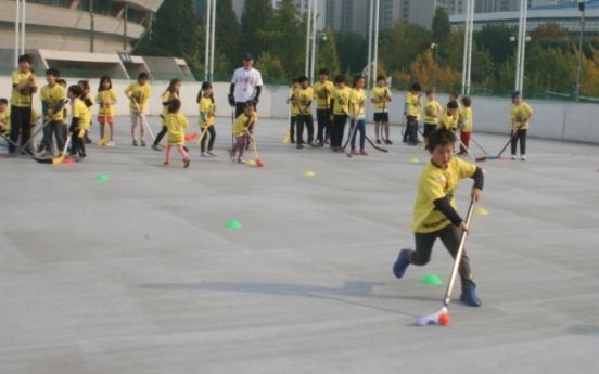 Hockey Day spreads love of sport to kids
