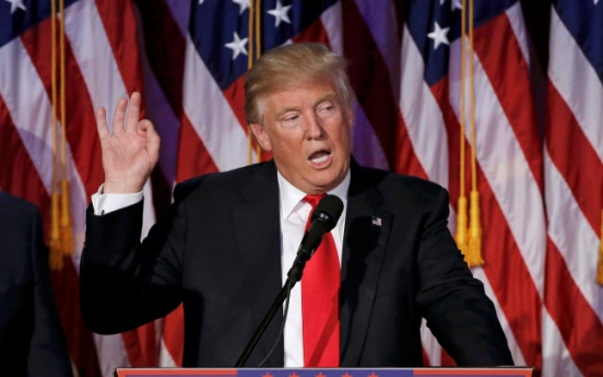 Trump denies suggesting more countries develop nuclear weapons